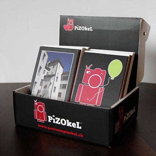 Pizokel Verkaufsbox