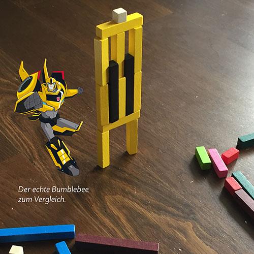 Bumblebee mit Auflösung
